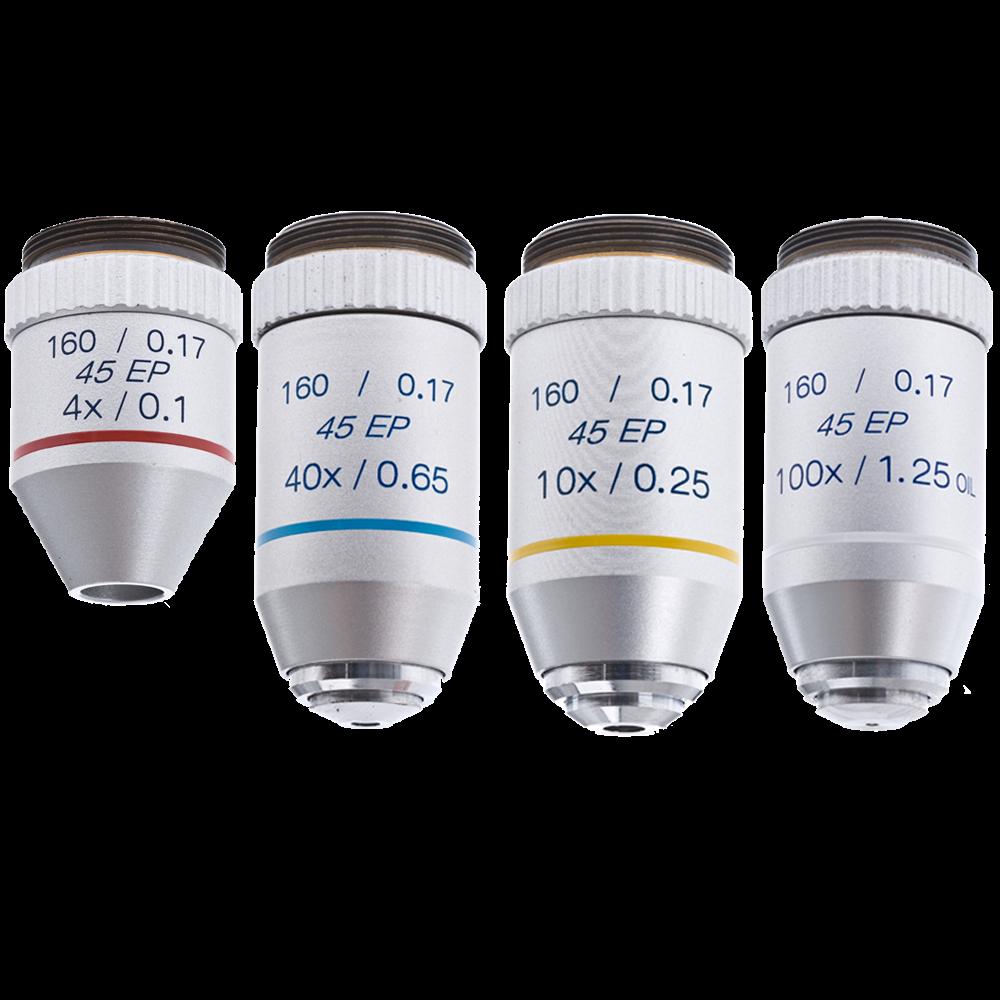 Omano Omano Microscope Semi Plan Objective Lenses
