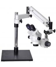 OM2300S-V7 7X - 45X Zoom Stereo Boom Microscope