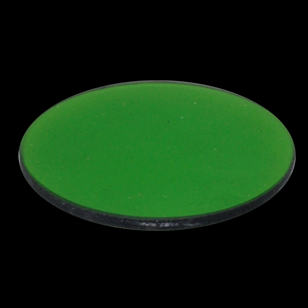 MA275/30 G533, Green clear 19.5mm filter in metal mount, fits 30mm filter slot