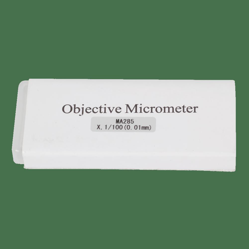 Meiji Slide Micrometer 1mm scale