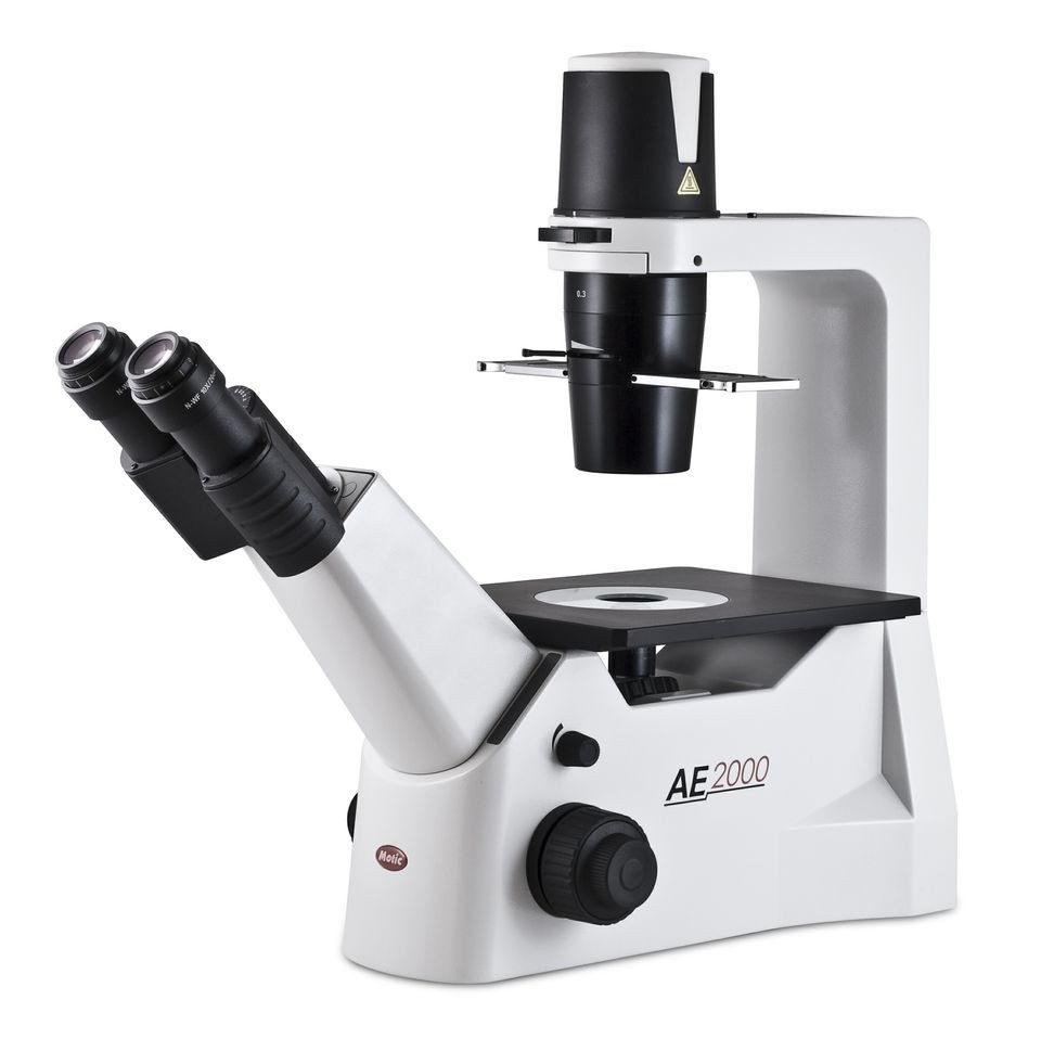 Motic AE2000 Inverted Phase Contrast Microscope