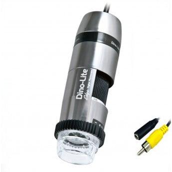 Edge AM5212NZ 20X-220X TV Output Polarizing Handheld Analog Microscope