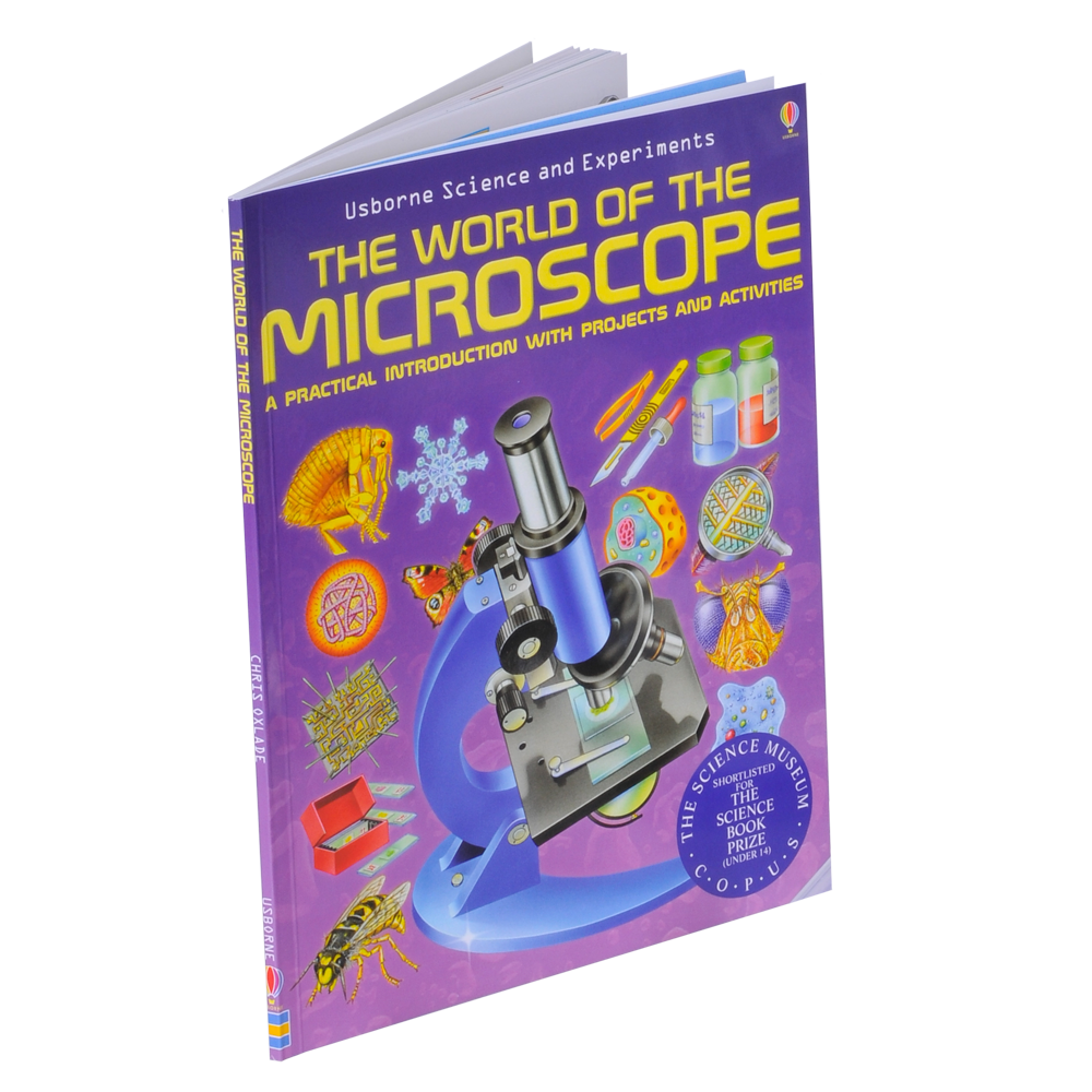 Omano Book World of the Microscope