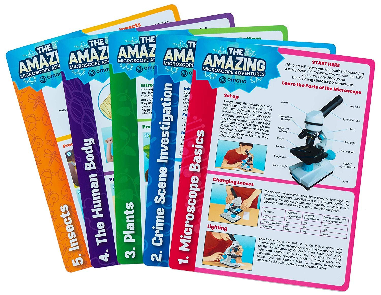 Amazing Microscope Adventure Cards