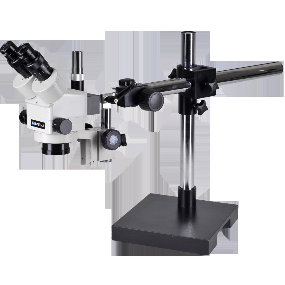 Meiji EMZ8TR-V10 Stereo Trinocular Boom Microscope