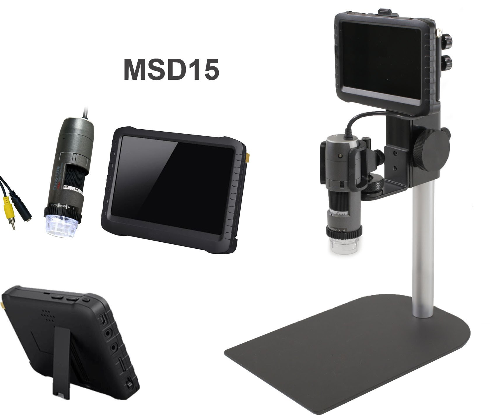 MSD15 Portable LCD Screen with Video/Audio Recorder