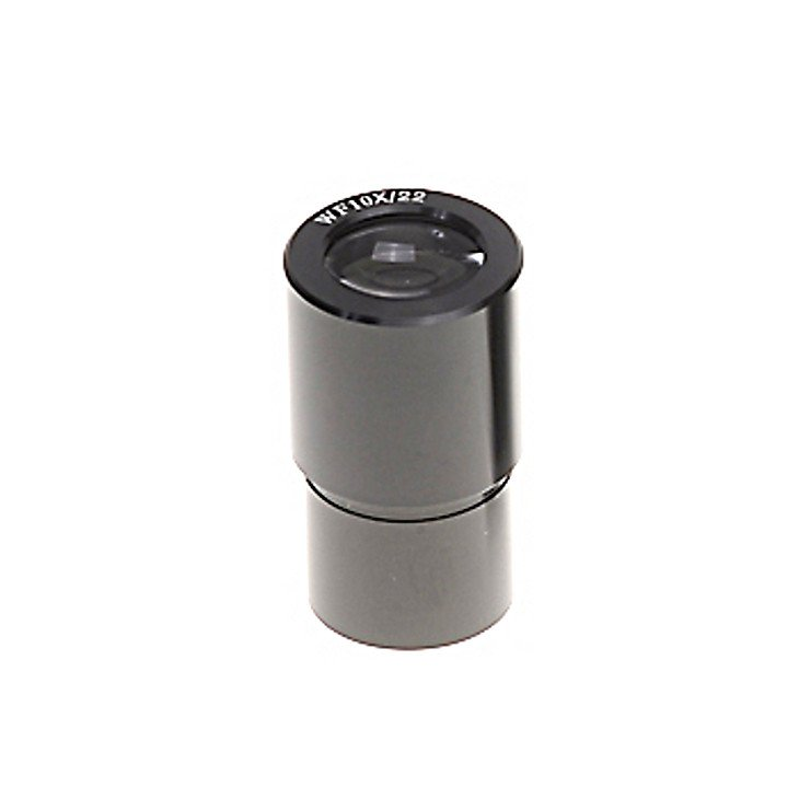 Omano 10X Eyepiece for Compound Microscope, High Eyepoint 23mm Black