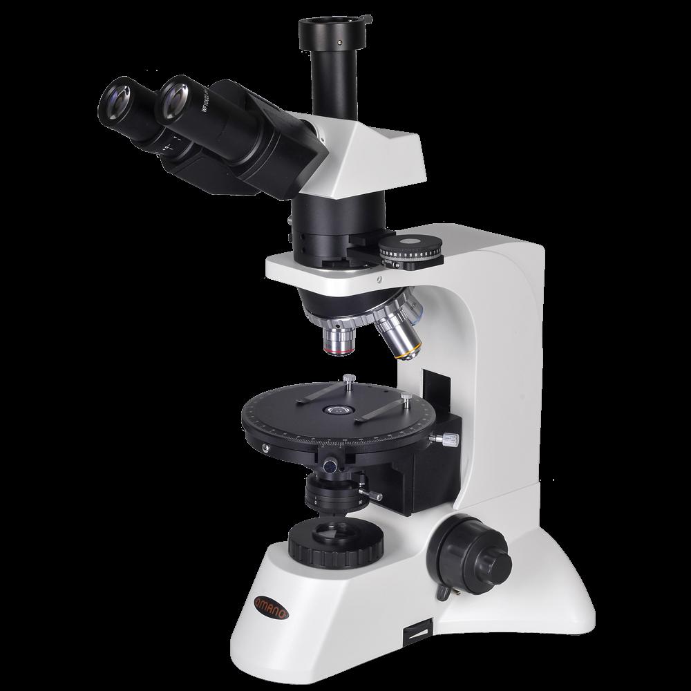 omano om349p 40x - 1000x research-grade polarizing microscope