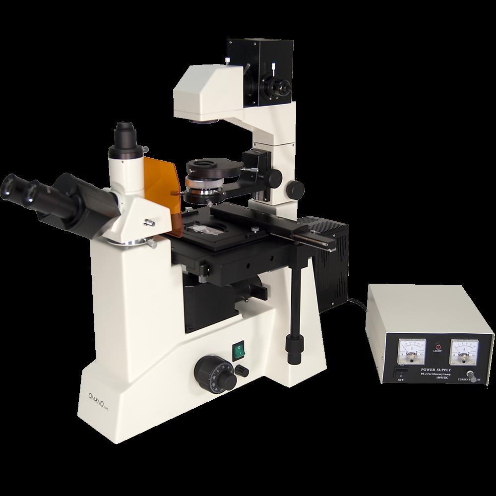 Omano OMFL600 Inverted Fluorescence Compound Microscope