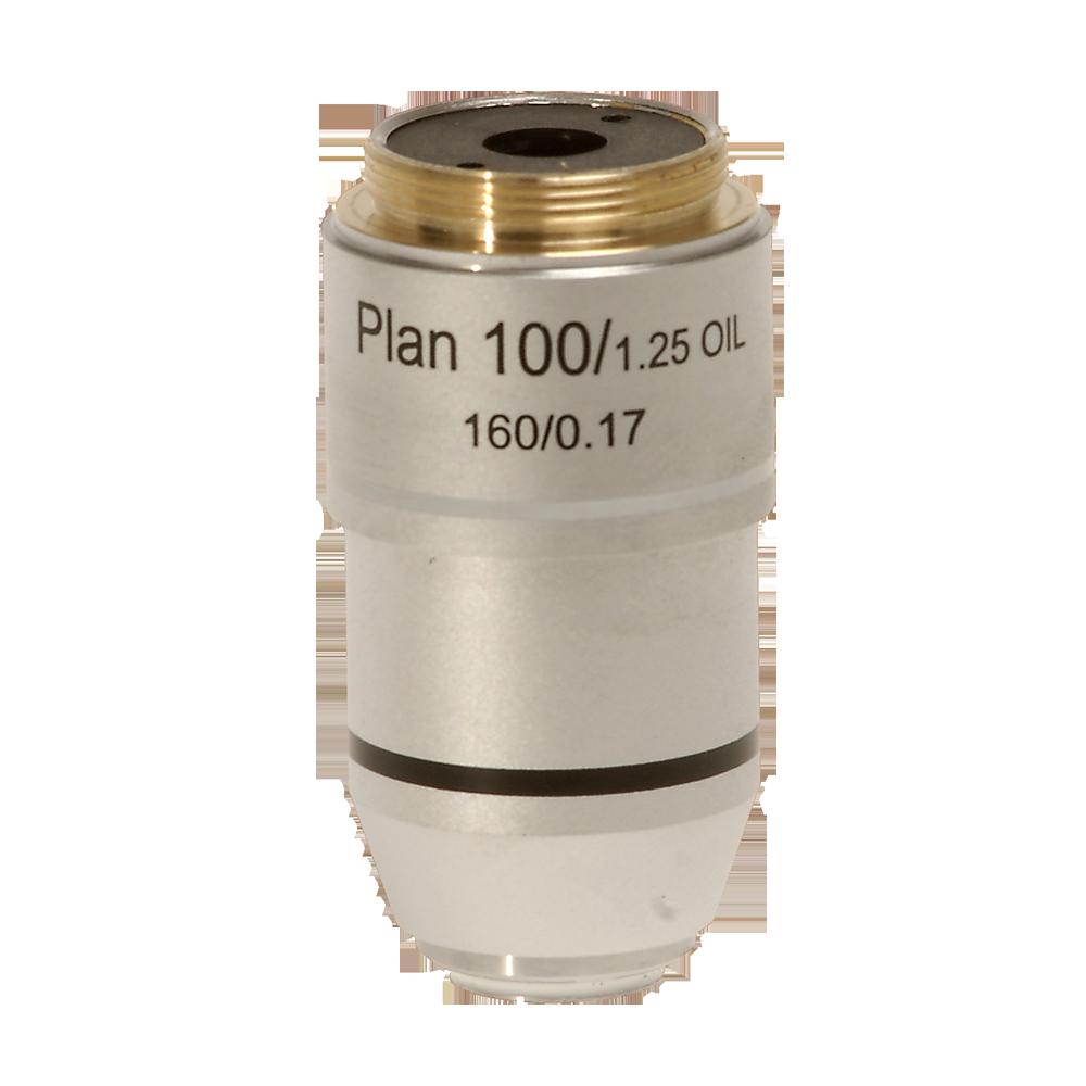 Omano Plan Achromatic 100X Spring Objective
