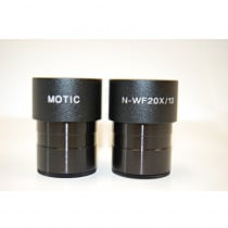 20X Eyepieces For Motic SMZ 171 Stereo Microscope20X Eyepieces For Motic SMZ 171 Stereo Microscope