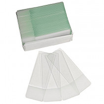 Omano package of 50 Blank Slides, Frosted