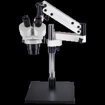 Omano OM1030-V7 Dual Power Stereo Boom Microscope
