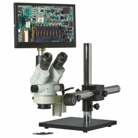 CX3-2300S-JW11 7.5X-45X Zoom Stereo Microscope Inspection System