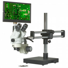 CX3-2300S-V15 7.5X-45X Zoom Stereo Microscope Inspection System