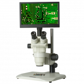 CX3-OM99-V3 6.5X-45X Zoom Stereo Microscope Inspection System