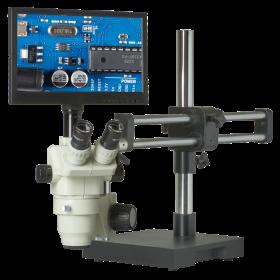 CX3-OM99-V15 6.5x-45x Zoom Stereo Microscope Inspection System