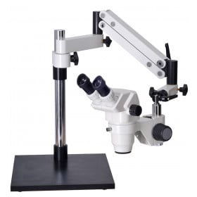 OM99-V7 6.5X-45X Zoom Articulated Boom Stereo Microscope