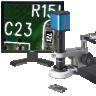 1080PU-VIDZ-BOOM 6X-50X Video Inspection System