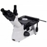 OMM300-T Inverted Trinocular Compound Microscope side view
