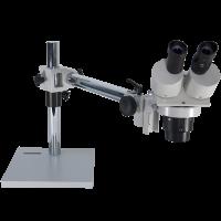 OM2040-JW11 20X / 40X Dual Power Stereo Boom Microscope