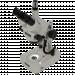 Meiji EMZ-5TR-BD-LED Zoom  Stereo Trinocular Microscope Side
