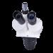 Omano OM2040-V10 Dual Power Stereo Boom Microscope trinocular head