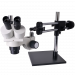 OM1030-V6 Dual Power Stereo Trinocular Boom Microscope