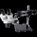 OM2040-V6 Dual Power Stereo Boom Microscope