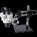 OM2040-V6 Dual Power Stereo Boom Microscope trinocular