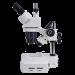 Omano OM4424 dual-power stereo trinocular microscope