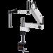 Omano OM2300S-V7 Zoom Stereo Boom Microscope U-Clamp Stand