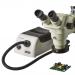 Omano OMFOB-RL-150 Illuminator on microscope