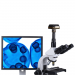 Summit DK3-3.1 3.1MP USB 3.0 Digital Microscope Camera mounted
